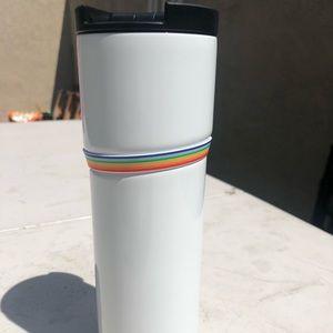 Starbucks Insulated White Pride Tumbler *Rare*